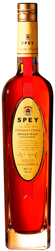 SPEY Chairman's Choice Single Malt Scotch Whisky, BRAND CONNECT Asia Pacific