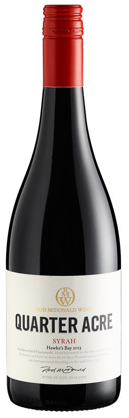 Quarter Acre Syrah 2014, BRAND CONNECT Asia Pacific