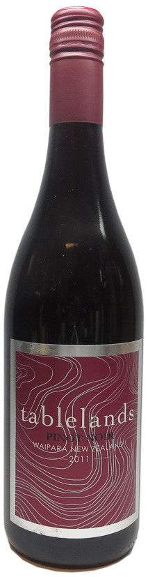 TABLELANDS Waipara Pinot Noir 2011, BRAND CONNECT Asia Pacific