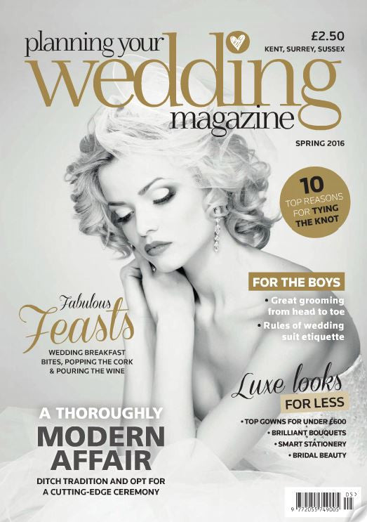 With Grace Couture feature in Planning Your Wedding Magazine this Spring