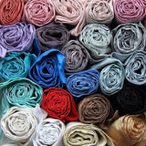 Our range of colours in Silk Dupion