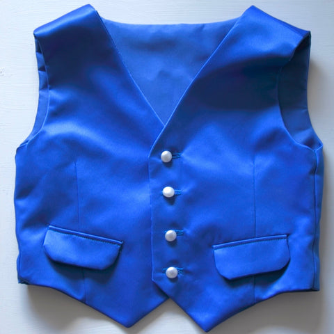 Page Boy Waistcoat and Bow Tie