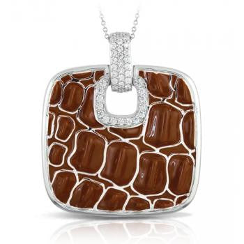 Belle e'toile Coccodrillo Brown Pendant (81299)