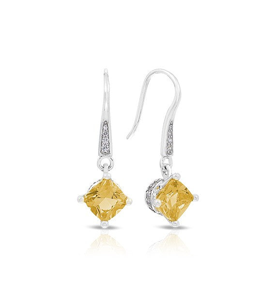 Belle e'toile Amelie Citrine Earrings (89589)