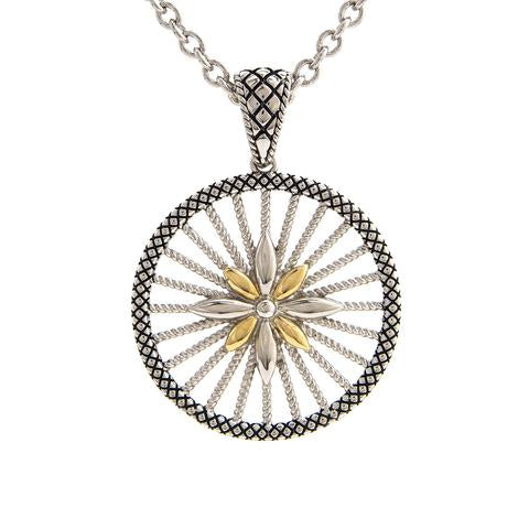 Andrea Candela 18K Gold and Sterling Silver Necklace (90843)