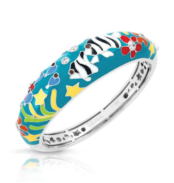 Belle e'toile Bracelet Angelfish Teal (81291)
