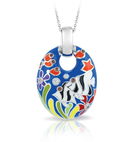 Belle e'toile Angelfish Blue Pendant (81289)