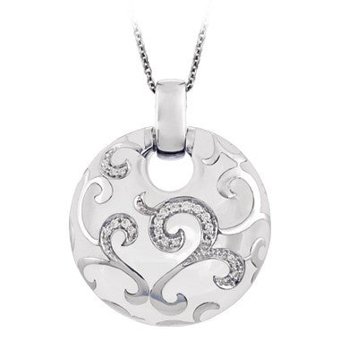 Belle e'toile Royale White Pendant (81321)