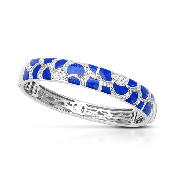 Belle e'toile Adina Blue Bracelet, Medium