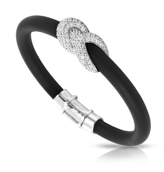 Belle e'toile Ariadne Black Bracelet, Medium (81273)