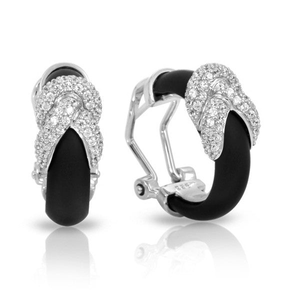 Belle e'toile Ariadne Black Earrings (81272)