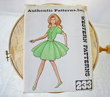 Authentic Patterns Inc 233 Western Patterns Size 10 Sewing Supplies - The Wicker Form