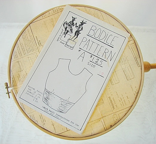 Bodice Pattern by Docie Doe Size 12 Uncut Sewing Supplies - The Wicker Form - 1
