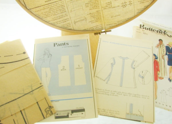 Butterick Patterns 3356 Misses Dress Top Pants Size 10 - The Wicker Form - 3