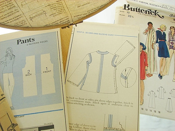 Butterick Patterns 3356 Misses Dress Top Pants Size 10 - The Wicker Form - 2