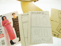 Butterick Pattern 3628 Easy Sew 3628 Misses Pullover Dress Sewing Supplies - The Wicker Form