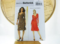 Vintage Butterick Dress B4914 Maggy London New 8-14 - The Wicker Form - 1