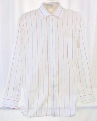 Christian Dior Men's Striped Long Sleeve Shirt 16-33 - The Wicker Form - 1