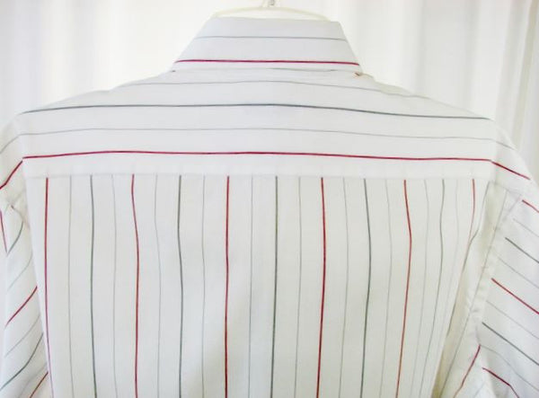 Christian Dior Men's Striped Long Sleeve Shirt 16-33 - The Wicker Form - 3