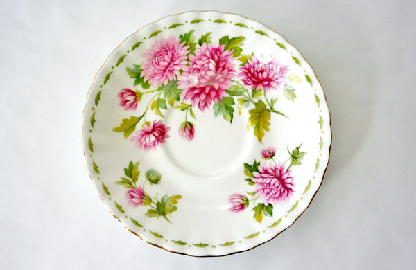 Royal Albert Bone China November Chrysanthemum China & Porcelain - The Wicker Form - 1