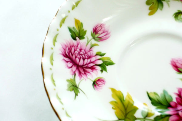 Royal Albert Bone China November Chrysanthemum China & Porcelain - The Wicker Form - 2