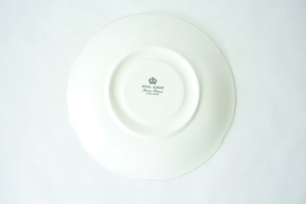 Royal Albert Bone China Shelley Replacement Saucer China & Porcelain - The Wicker Form - 3