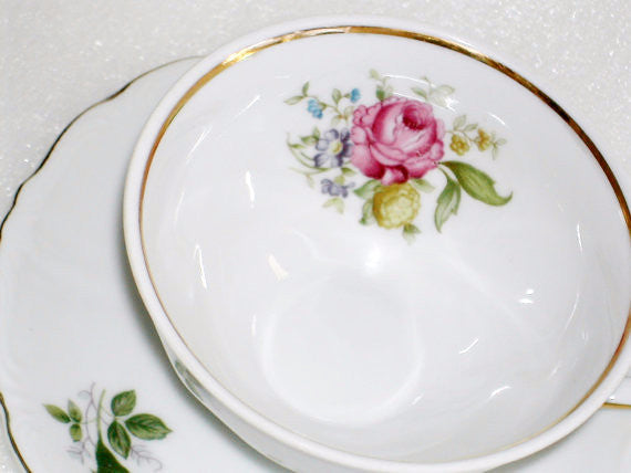 Royal Heidelberg China American Beauty Pattern China & Porcelain - The Wicker Form - 5