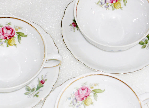 Royal Heidelberg China American Beauty Pattern China & Porcelain - The Wicker Form - 2