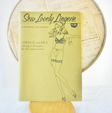 Sew Lovely Lingerie Techniques Book Girdle and Bra Sewing Supplies - The Wicker Form - 1