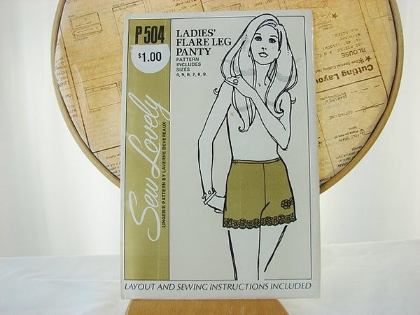 Sew Lovely P504 Ladies Flare Leg Panty Sealed Sewing Supplies - The Wicker Form - 1