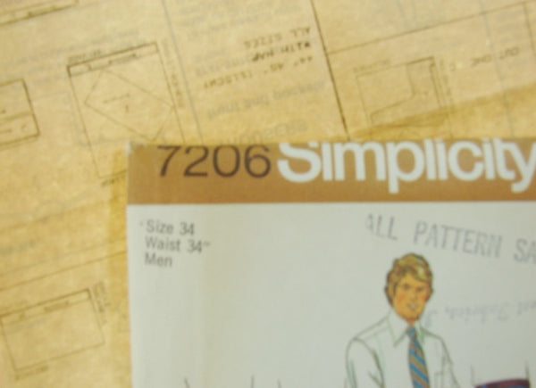 Simplicity Pattern 7206 Teen-Boys and Mens Pants Sewing Supplies - The Wicker Form - 4