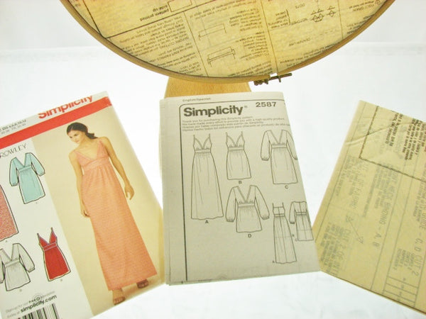 Simplicity Pattern 2587 Cynthia Rowley Dress Short To Maxi Sewing Supplies - The Wicker Form - 2
