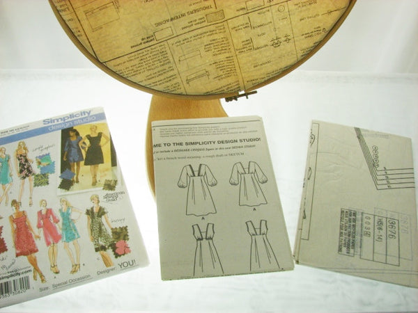 Simplicity Pattern 3676 Special Occasion Dresses Sewing Supplies - The Wicker Form - 2