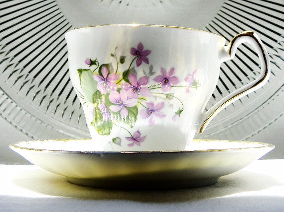Society English Bone China Cup & Saucer - The Wicker Form - 5
