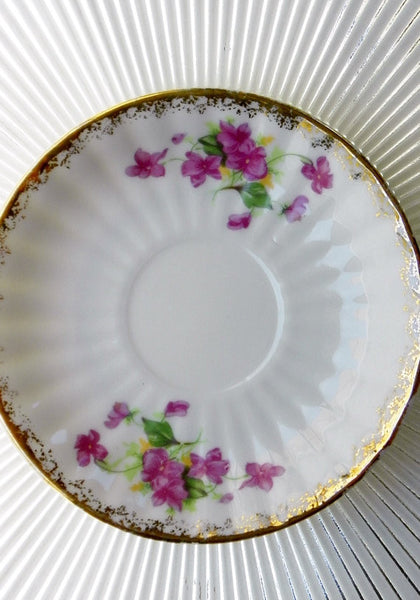 Society English Bone China Cup & Saucer - The Wicker Form - 3