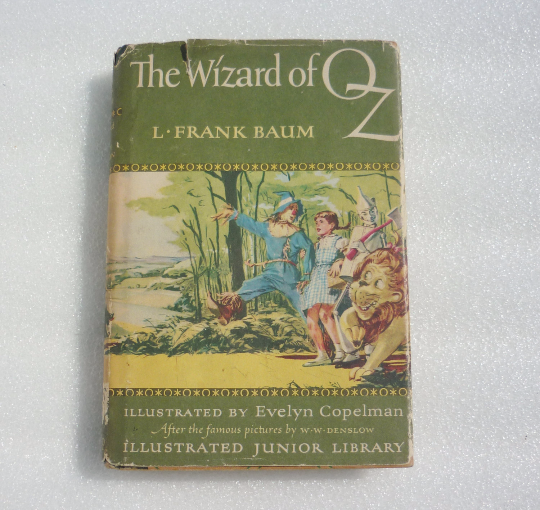 Frank Baum The Wizard of Oz Illustrated By Evelyn Copeman Collectables - The Wicker Form - 4