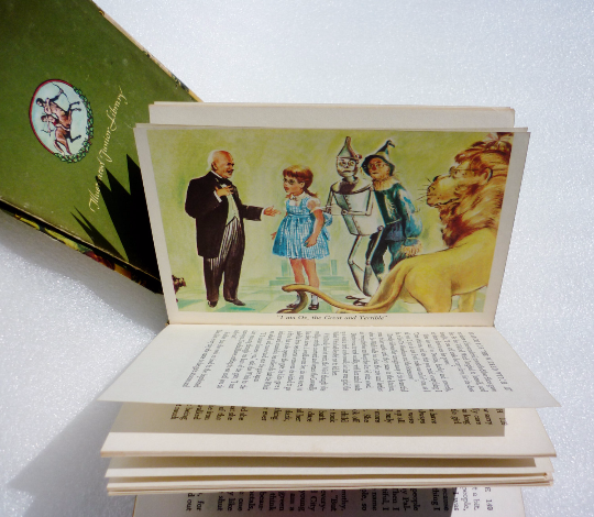 Frank Baum The Wizard of Oz Illustrated By Evelyn Copeman Collectables - The Wicker Form - 5