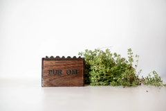 Pur Om Maple Wood Soap Box