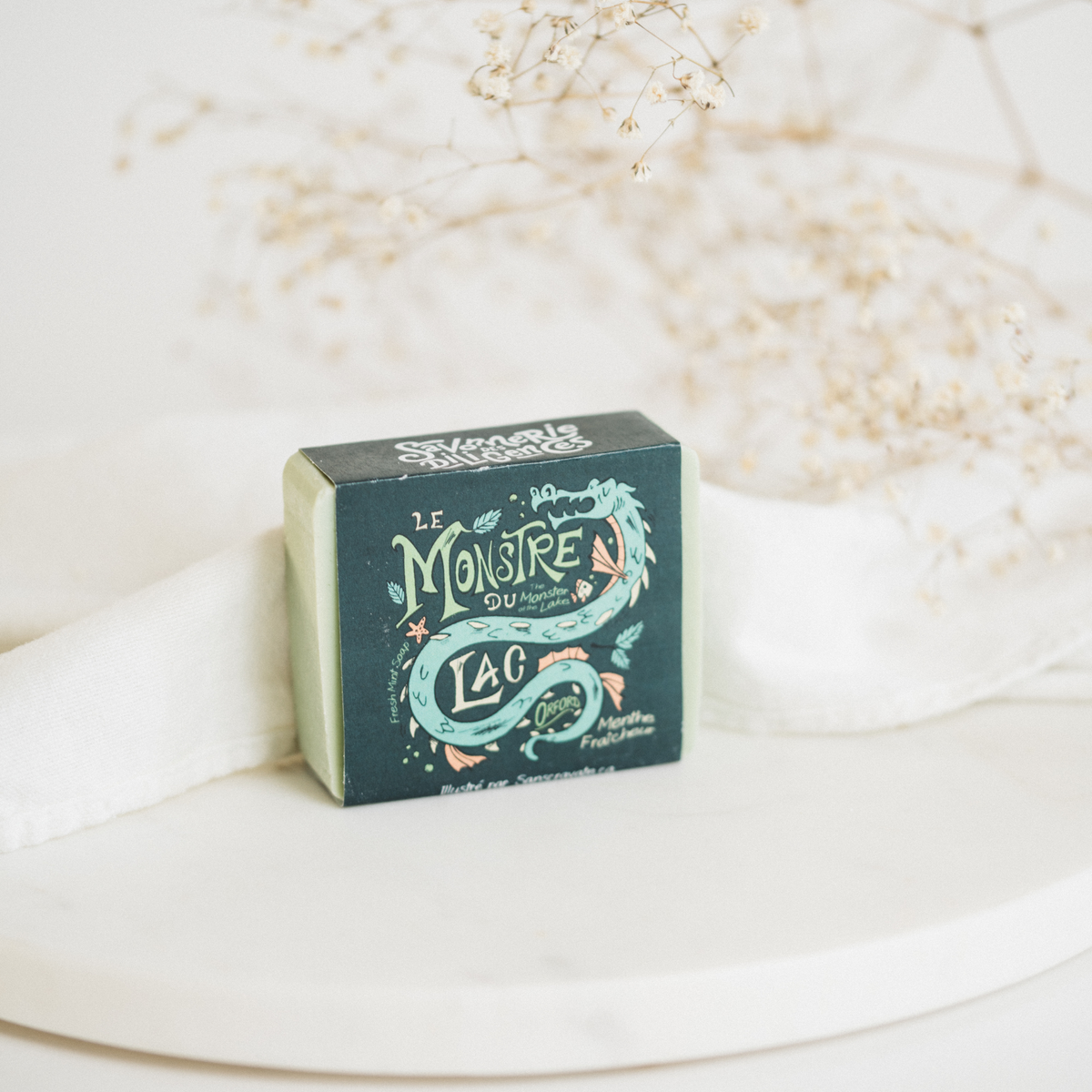The Monster of the Lake - Fresh mint soap