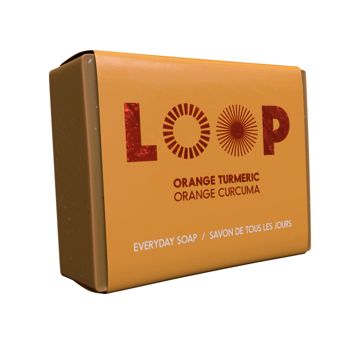 LOOP - Savon orange curcuma