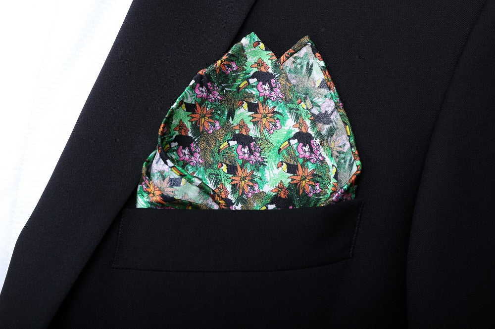 Pocket Square - Jungle