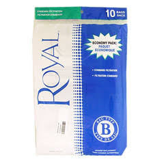 Royal Type B Vacuum Bags 3067247001 (10 Pack)