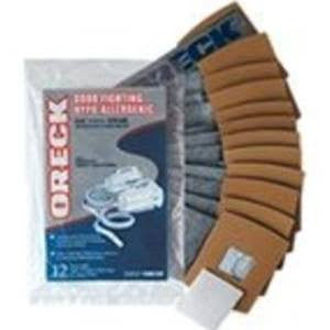 Oreck Buster Bee Hypo-Allergenic Vacuum Bags Genuine - 12 pack and 1 Filter