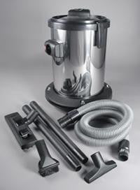 Vacuflo Stainless Wet/Dry Vac w/ Hoses & Attachments Kit 7896