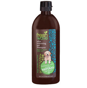 Fresh Wave Natural Odor Eliminator Pet Shampoo 16 oz.