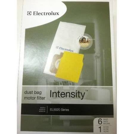 Electrolux EL206 Intensity Vacuum Cleaner Bags 6 Bags + 1 Filter.