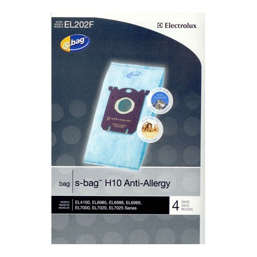 Electrolux Anti-Allergy S-Bag EL202F-10 (10 pk)
