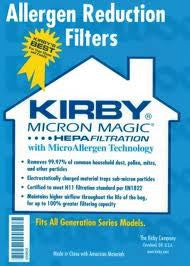 Kirby Micron Magic Hepa Filtration Bags (6 pack)