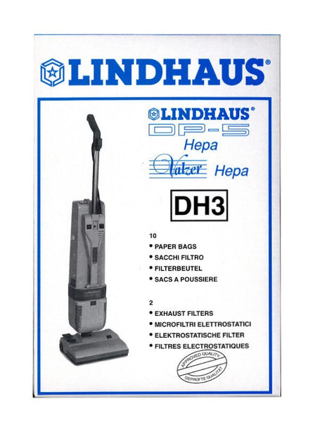 Lindhaus DH3 Paper Bags (10 pack)