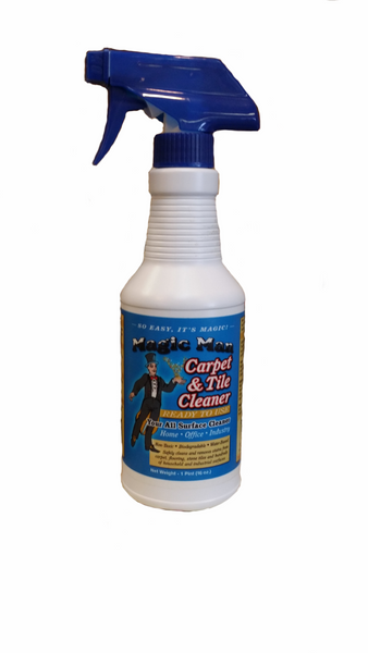 Magic Man Carpet & Tile Cleaner (Ready to use) 32 oz.